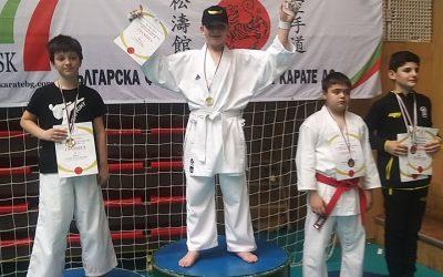Първи златен медал за клуба от национално първенство
