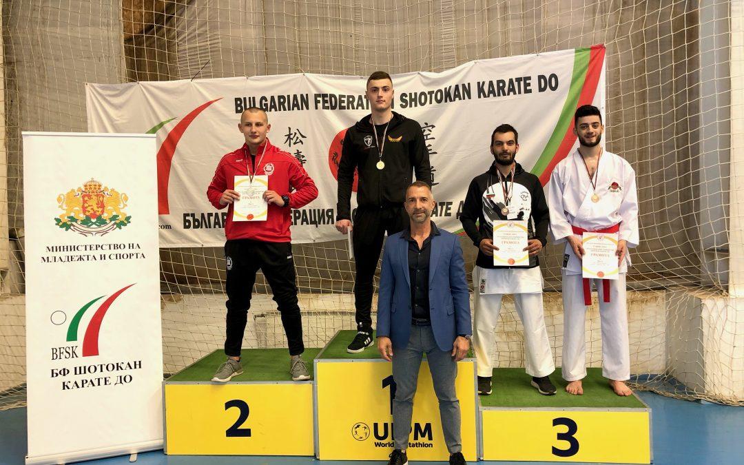 Александър Христов национален шампион мъже до 80 кг